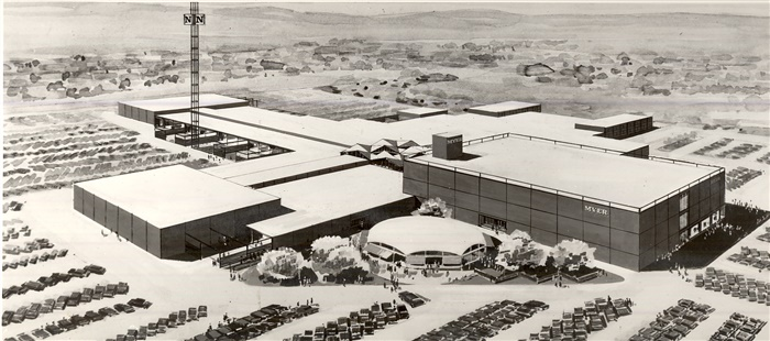Image of an artists' impression of Northland 1965