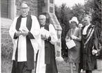 Image. Photographs of Bishop Baker of All Saints Church Northcote in 1965