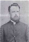 Image. Photograph of A young Reverend Alfred Charles Kellaway. Circa 1870s.