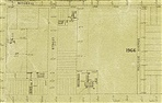Image - Map. 1906 map showing the location of the farm house and outbuildings (201-203 Bastings Street)