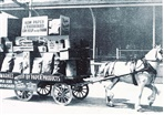 Image - photo - Horse and cart at the Australian Paper Mills c1930s