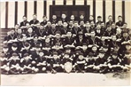 Image - Photo. 1st Alphington Rover's Scouts Club Pack 1932. Taken outside Scout Hall, Adams St, Alphington