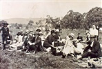 Image - Photo. 1st Alphington Scouts on Visitor's Day at Scout Camp, Woodend, 1928