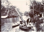 Canoeing at Rudder Grange circa 1910