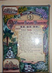 Image - document - Illuminated address presented to Dr. Wilkinson on behalf of the citizens of Preston.