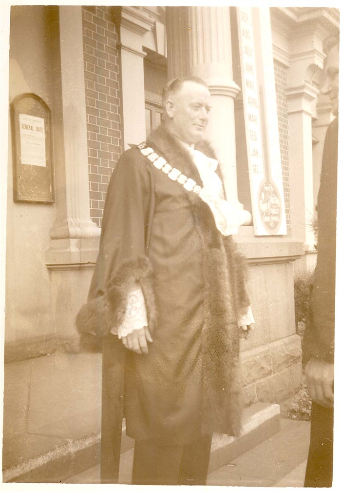 Photo - William Robinson, Mayor of Preston 1947/48