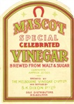 Image - label for 'Mascot Special Celebrated Vinegar'