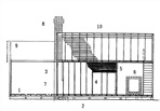 Plan - Architectural plan of the Abbott Street toll house. Courtesy Graeme Butler