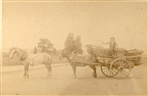 Image - Photo. A horse and cart, possibly in Separation Street c. 1880s