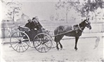 Image - Photo. Northcote Councillors heading to council meeting c1870