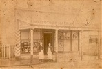Image - Photo. Northcote hairdresser c1890